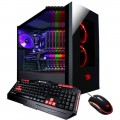 iBUYPOWER - Element Gaming Desktop - AMD Ryzen 5-Series - 8GB Memory - NVIDIA GeForce GTX 1060 - 1TB Hard Drive + 120GB SSD - Black