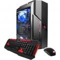 iBUYPOWER - Desktop - Intel Core i7 - 32GB Memory - NVIDIA GeForce GTX 1080 - 240GB Solid State Drive + 3TB Hard Drive - Black