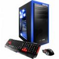 iBUYPOWER - Desktop - Intel Core i7-7700 - 8GB Memory - AMD Radeon RX 550 - 1TB Hard Drive - Black/blue